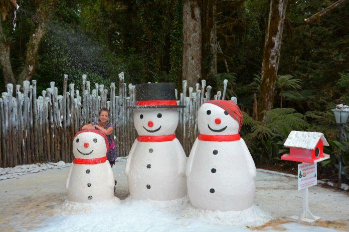Aldeia do Papai Noel - Praça da Neve