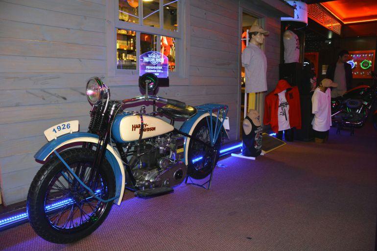 Harley Motor Show - A lojinha