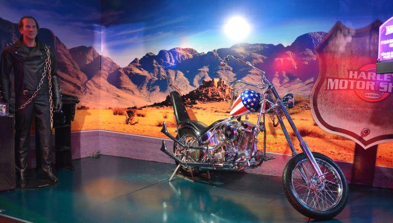 Harley Motor Show - Capitão América