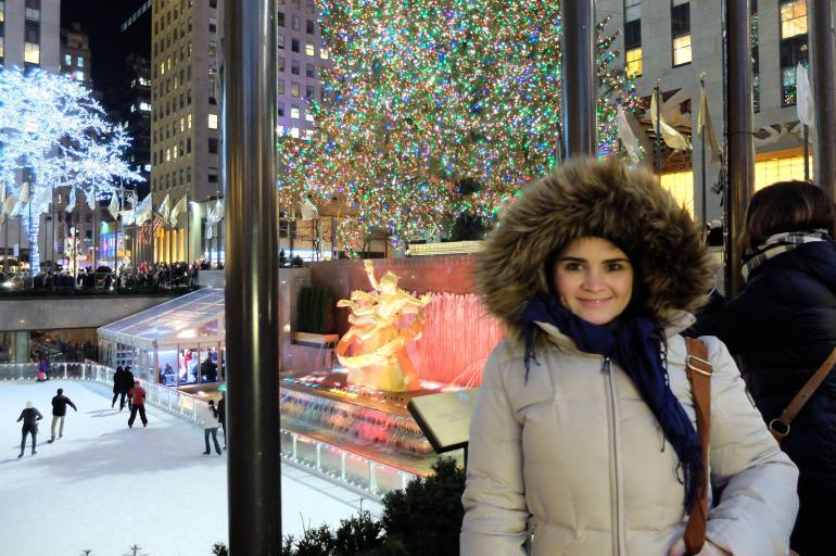 Nova York no Natal - Nini na Árvore