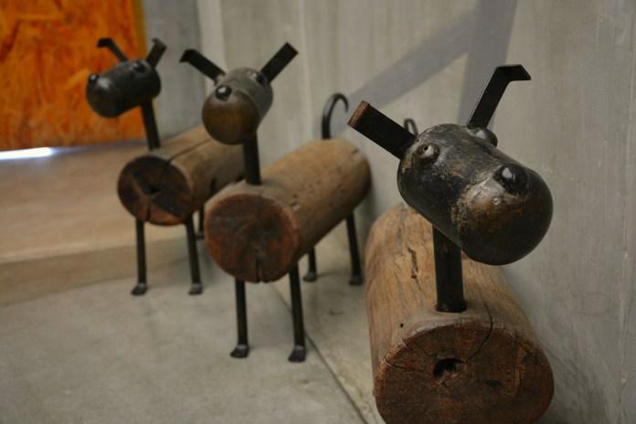 Onde ficar em Bangkok - Decoração cachorrinhos