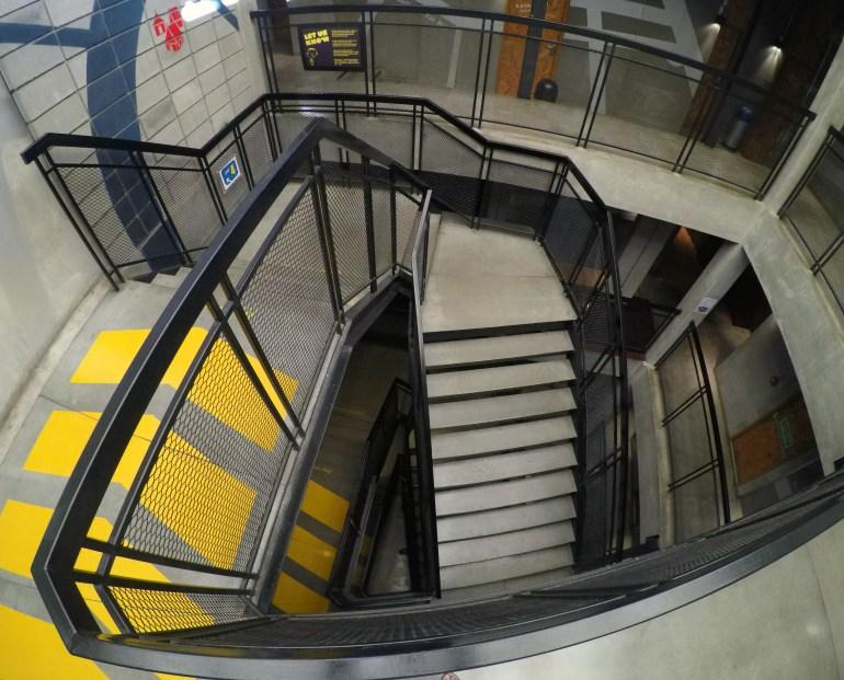 Onde ficar em Bangkok - Escadas