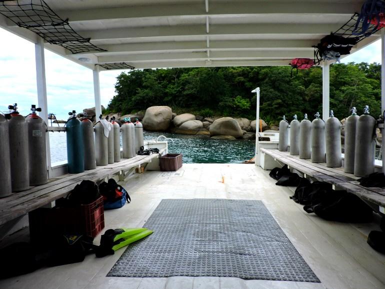 Mergulho em Paraty - 5