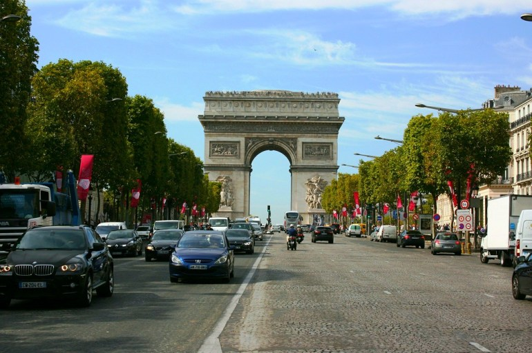 O que fazer em Paris de graça - Champs Elysées