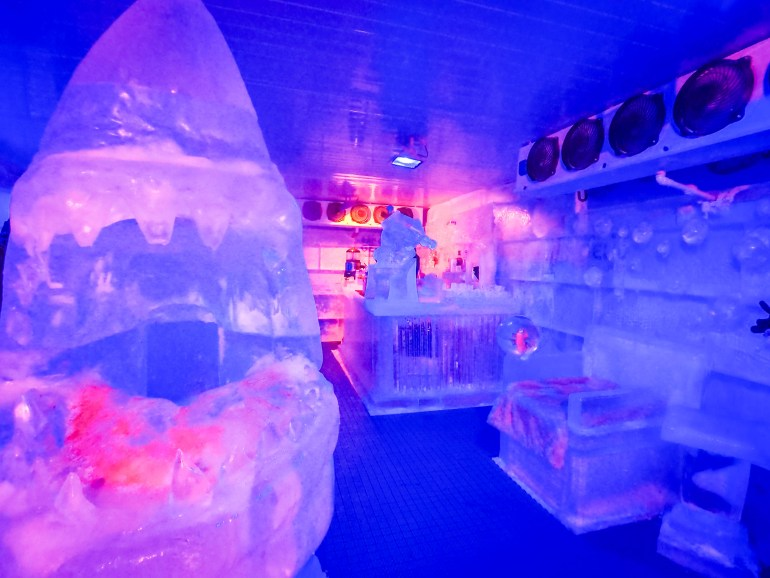 Ice bar - Iceland - 2