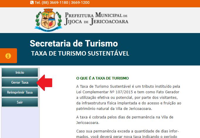 Taxa de Turismo de Jericoacoara - 0