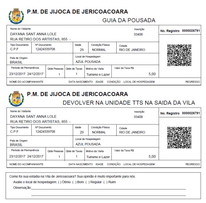 Taxa de Turismo de Jericoacoara - 4