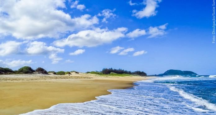 Leste de Florianópolis - Praia do Moçambique