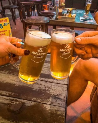 25 cent beers in Siem Reap, Cambodia
