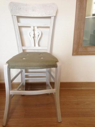 La sedia finita
