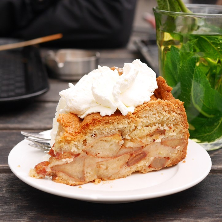 Best Apple Pie from Cafe Winkel Amsterdam