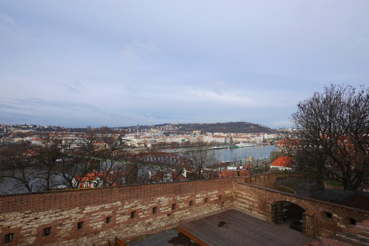 View from Vyšehrad, Prague
