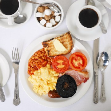 Full English Breakfast Traditional Powdermills Hotel