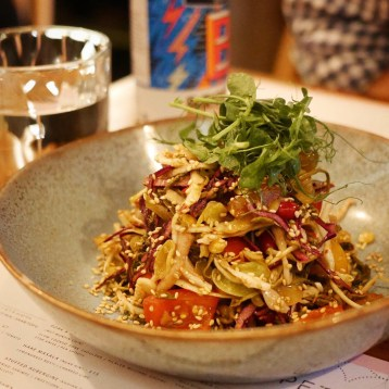 Lahpet London Burmese Tea Leaf Salad