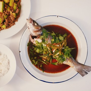 Homemade Cantonese-Style Steamed Fish
