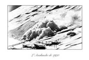Avalanche du Tignes 1970