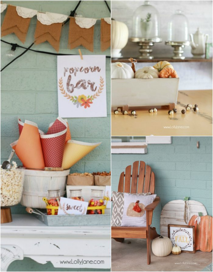 Lots of fall decor ideas, easy diy's and crafts for Thanksgiving.