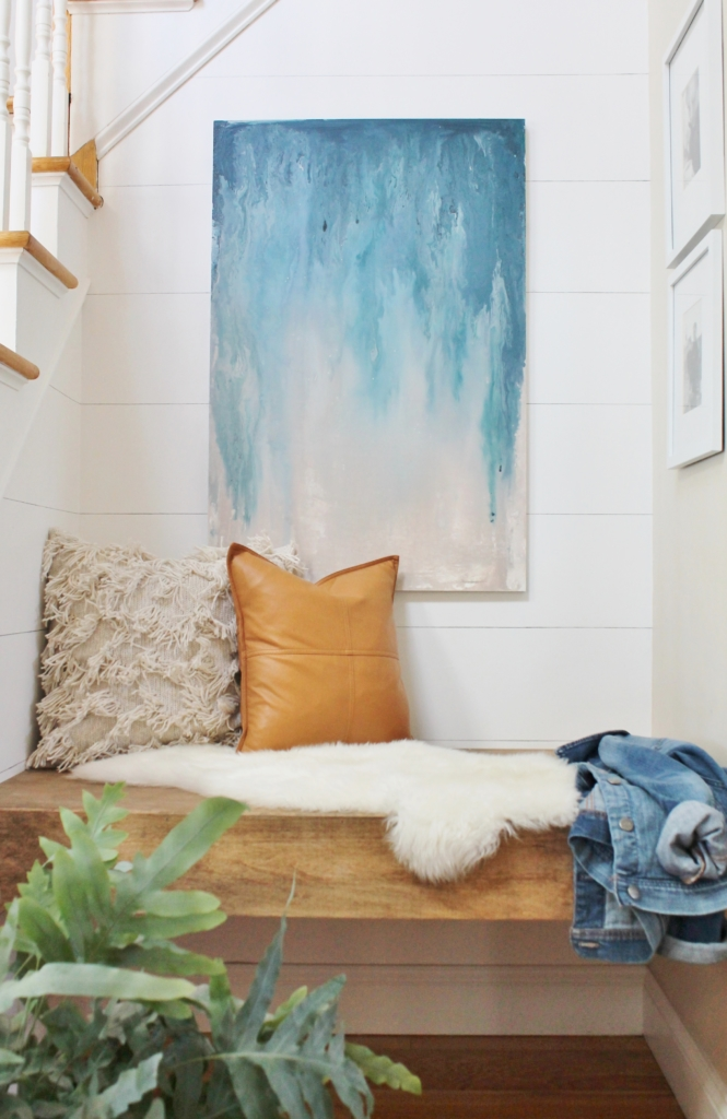 13 Creative DIY Abstract Wall Art Projects - Lolly Jane on Modern Painting Ideas  id=87561