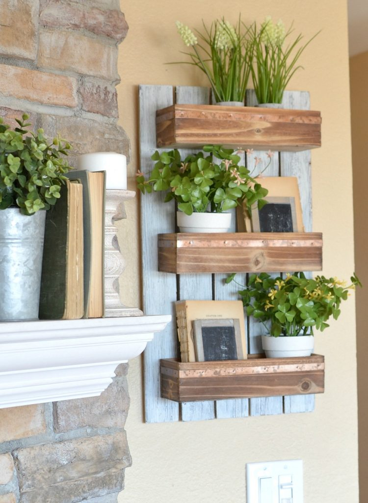 9 stunning wall planters | easy decor ideas - Lolly Jane on Wall Sconces For Greenery Decoration id=94727