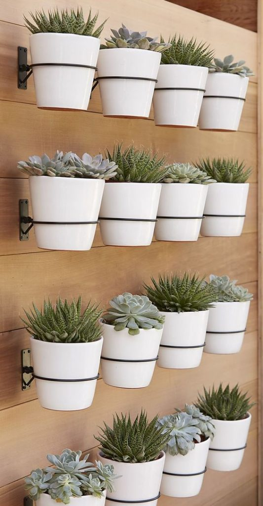 9 stunning wall planters | easy decor ideas - Lolly Jane on Wall Sconces For Greenery Decoration id=32491