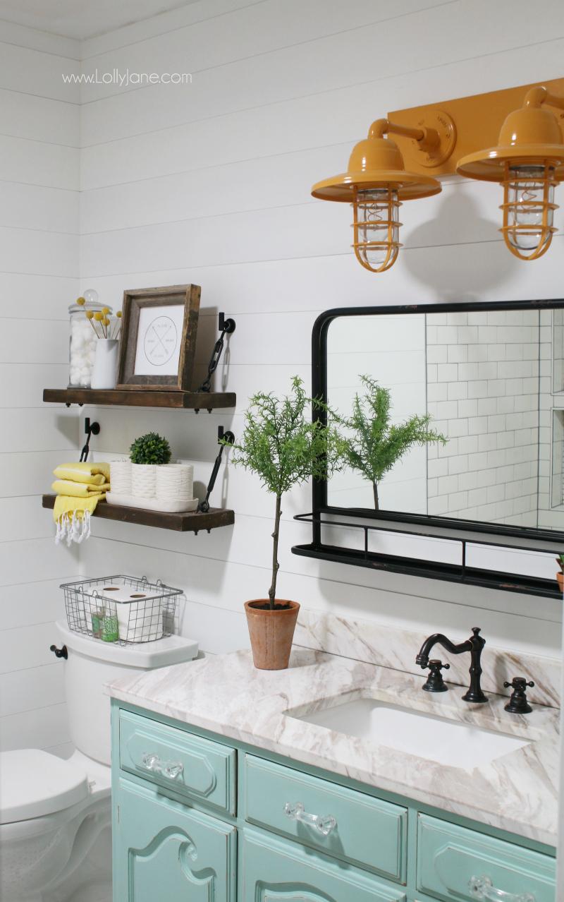Barn Light Electric farmhouse bathroom vanity lights ... on Farmhouse Bathroom  id=64104