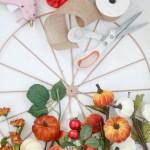 Fall Wheel Wreath Tutorial Lolly Jane
