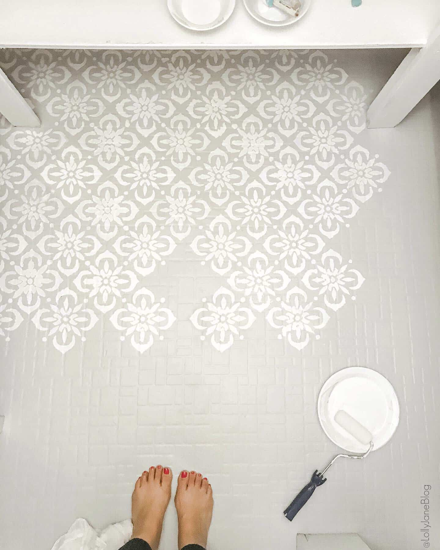 how to paint any type of floors