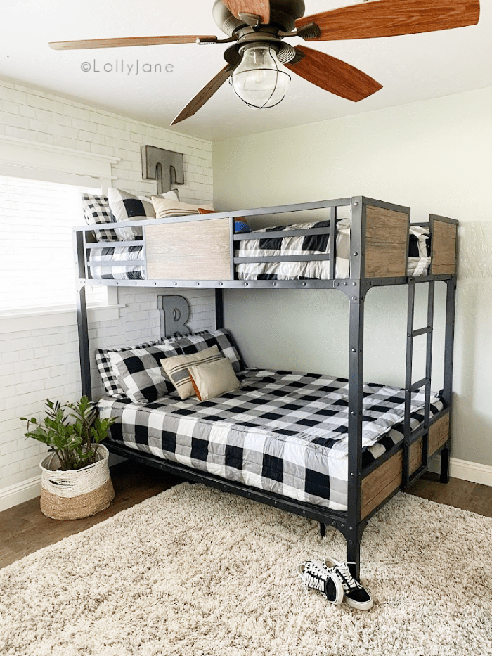 industrial bunk bed that can handle