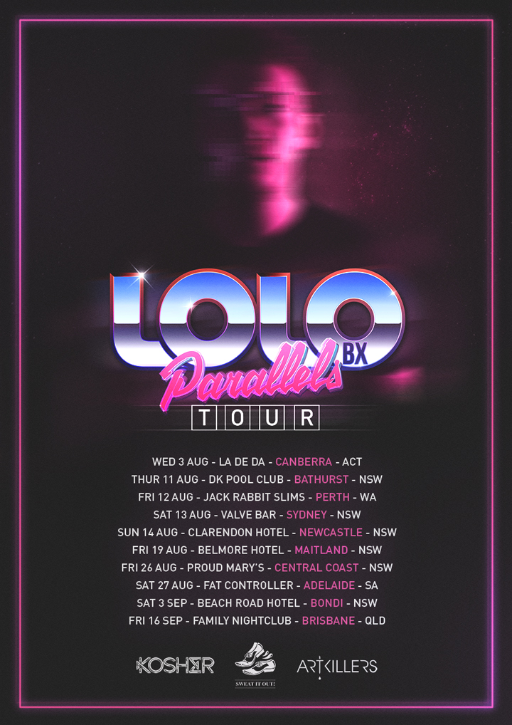 LOLO BX - National Parallels tour