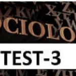 Sosyoloji Test-3