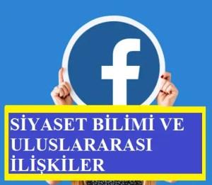 Facebook Siyaset Bilimi Ve Uluslararası İlişkiler