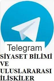 Telegram Siyaset Bilimi Ve Uluslararası İlişkiler grup