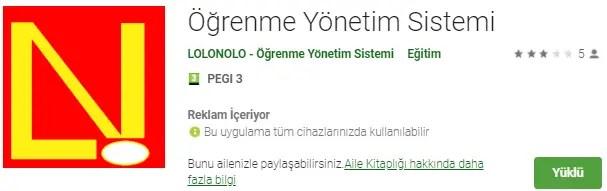 Lolonolo Play Google, Online Deneme Sınavları