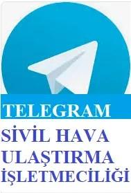 telegram - Sivil Hava Ulaştırma İşletmeciliği