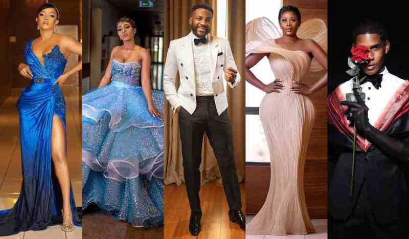 Photos of Mercy, Ebuka, Toke, Nana and Denola at the AMVCAs 2020