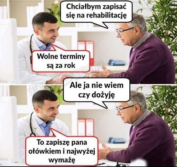 Nasz służba zdrowia w praktyce – LOLS.PL – Najlepszy Humor, Demotywatory,  Memy, Zabawne Obrazki