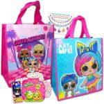 50ef828083e9 L.O.L Surprise! Girls T-Shirt Set – 3 Pack of LOL Surprise Tees – Lil  Outrageous Littles T-Shirts (Large-10/12)