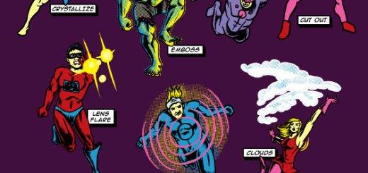 Adobe Filter Super Heros