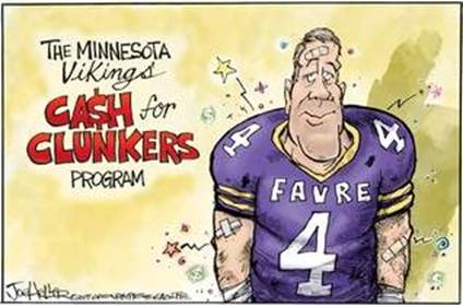 Brett Favre - MN Cash for Clunkers