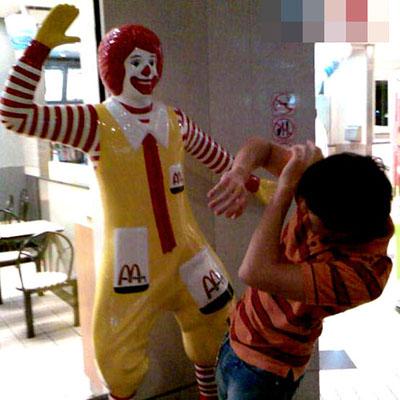 Ronald McDonald Abuse
