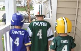 Brett Favre Backs