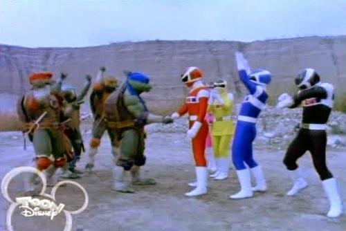 Best Show Ever: TMNT vs Power Rangers