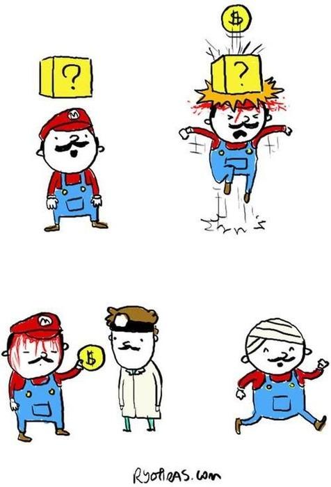 Not So Lucky Mario