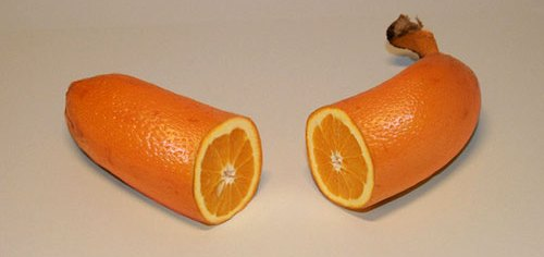 Knock Knock. Who's There? Orange...