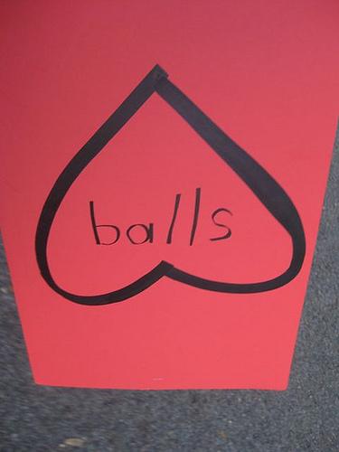 I Heart Balls?!