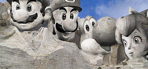 Mount Nintendo Rushmore