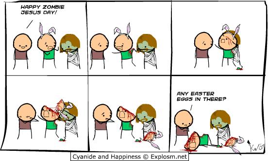 Happy Zombie Jesus Day!