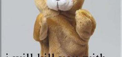 I Will Kill You With My Bear Hands