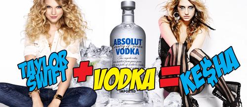Taylor Swift Vodka Kesha
