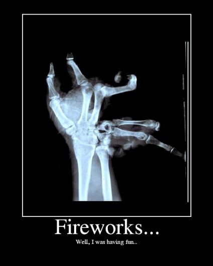 Fireworks. Don